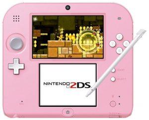Nintendo 2DS ROSA 3