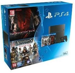 PlayStation PS4 + 500+ 2 juegos